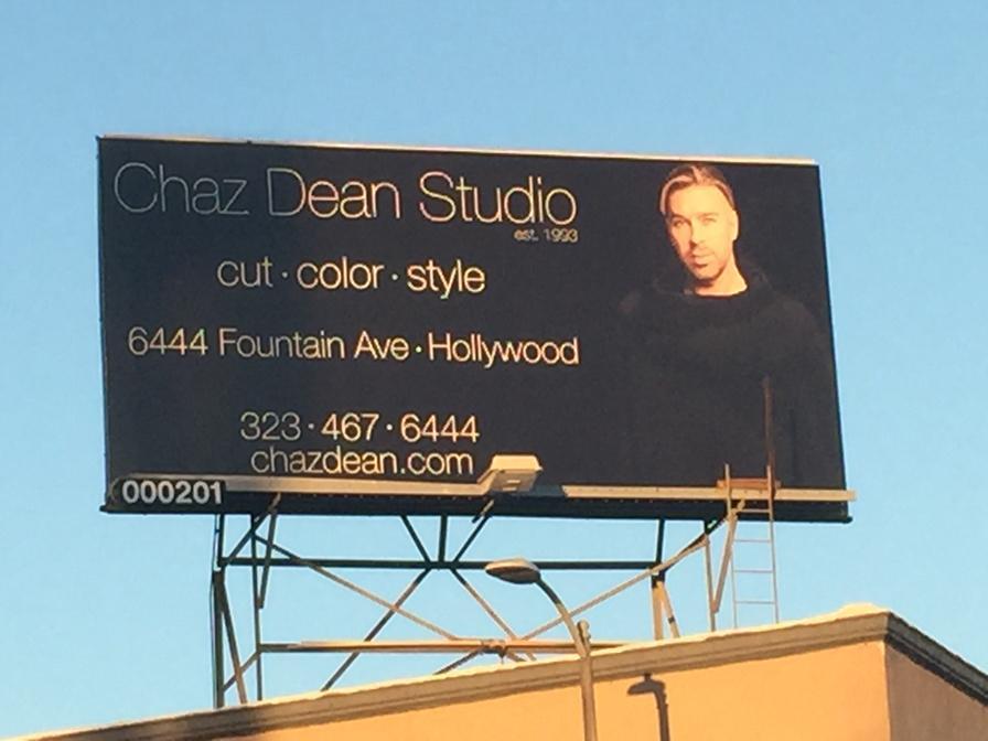 Chaz Dean Billboard
